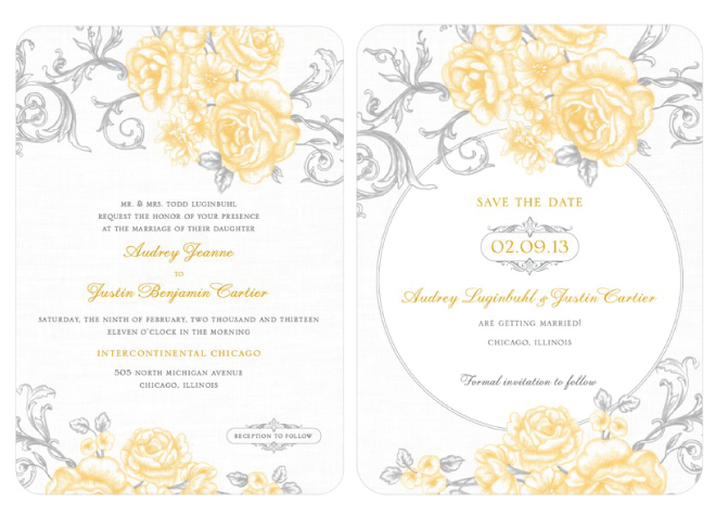 Vivid Vision Get The Matching Wedding Invitations And Stationery