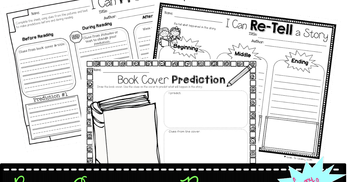 Love to Learn: Reading Comprehension Printables for any