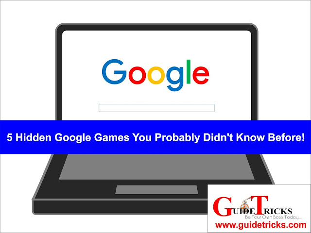 5 Hidden Google Games You Probably Didn't Know Before!