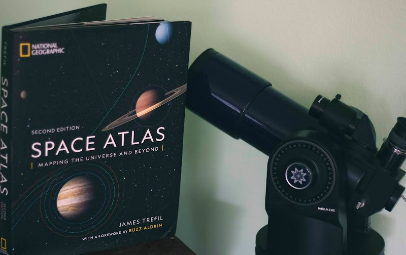 { National Geographic's Space Atlas - TLC Book Tour }