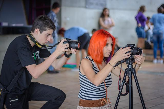 Integración y evento cultural en torno a las iniciativas juveniles de la comuna 7, Robledo, El semillero estuvo haciendo un cubrimiento audiovisual de estas actividades.