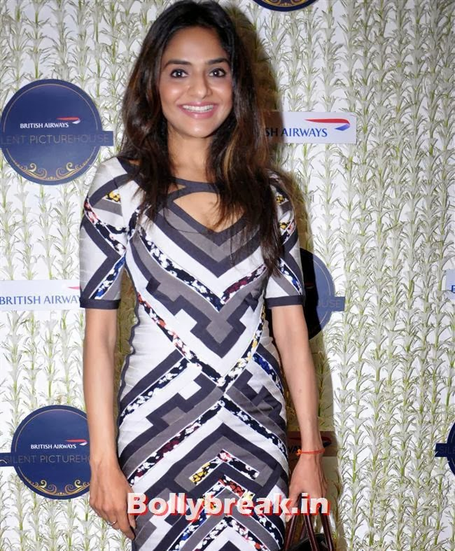 Madhoo, Malaika, Chitrangada at British Airways 'Silent Picturehouse' in Mumbai