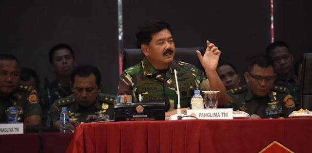 Panglima TNI: Pemilu 2019 Sangat Kompleks terhadap Kemungkinan Gangguan