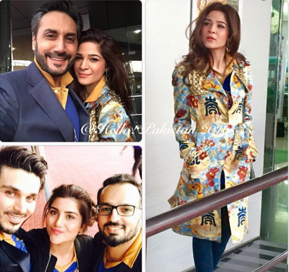 Pakistani Famous Celebrities Spotted In Dubai To Support Karachi Kings 'Dilon Ke Badshah'