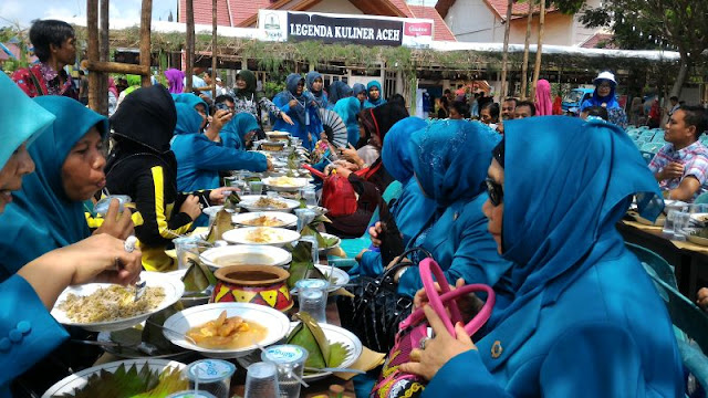 Festival Kuliner Aceh Meriahkan Jambore PKK Aceh