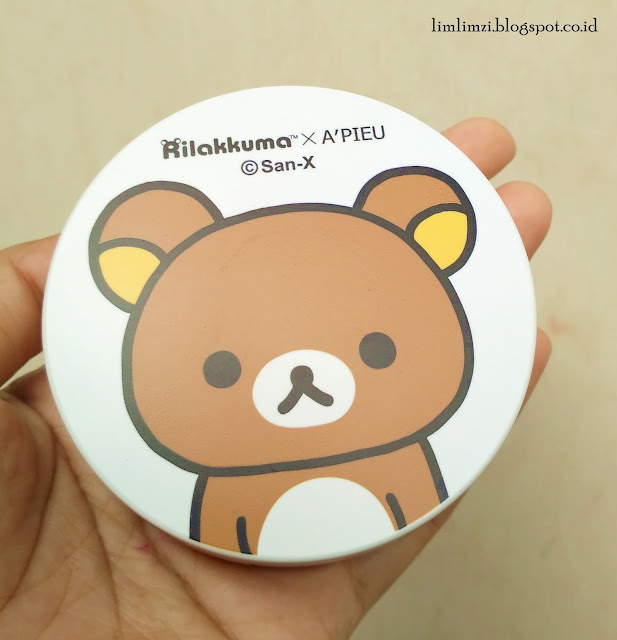 Rilakkuma X A'PIEU Air Fit Tension Pact No. 23