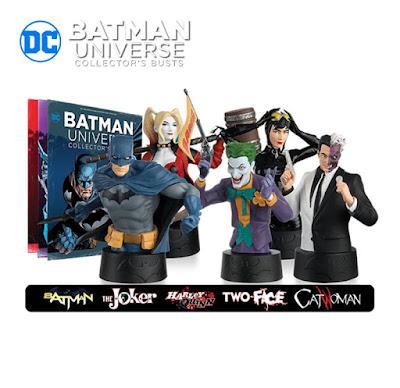 Bustos de Batman Universe Collector's - Eaglemoss