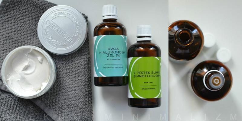 Ecospa kwas hialuronowy żel 1%, olej z pestek śliwki zimnotłoczony