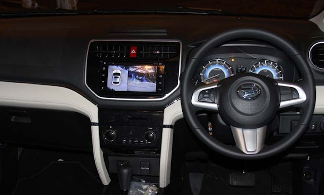 Kabin dashboard Dihatsu All New Terios
