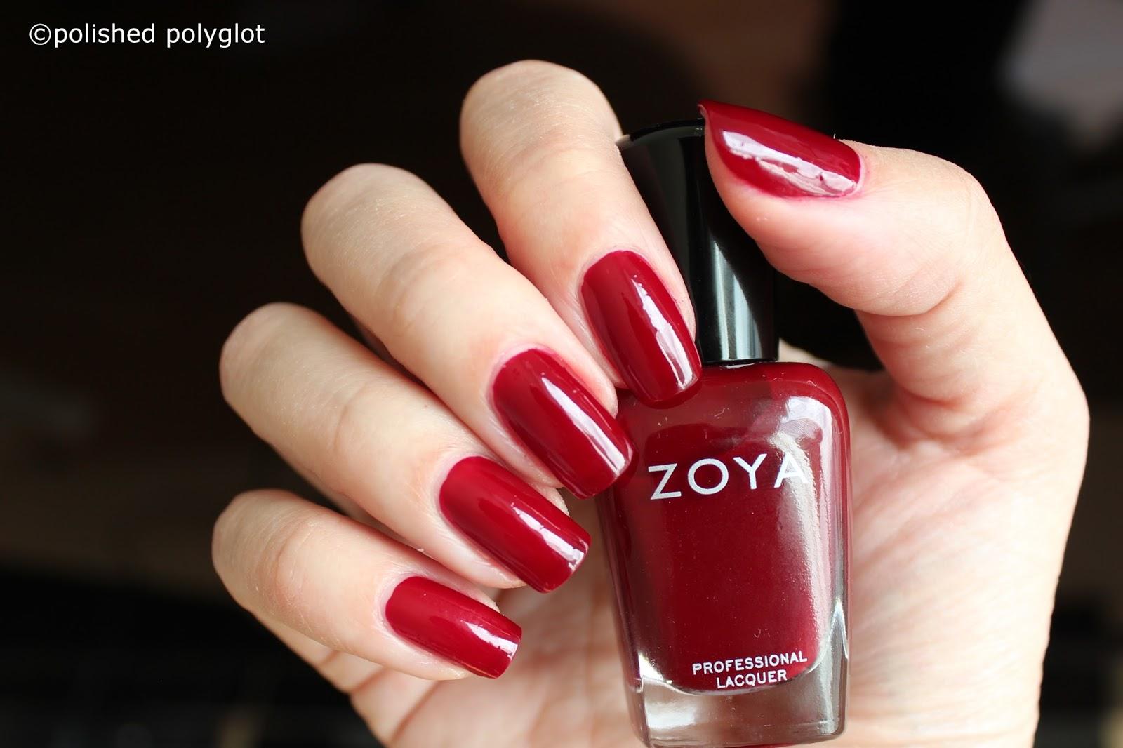 Nail polish │Zoya Urban Grunge One coat creams [Swatches and Review ...