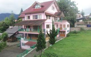 villa kapasitas besar dan banyak di lembang bandung