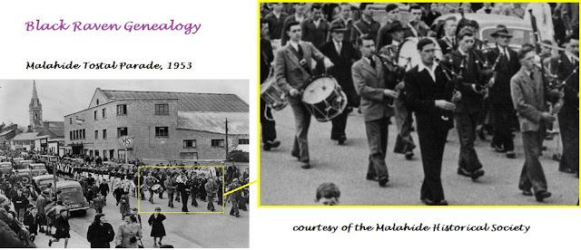 James and Michael Byrne, Malahide, Co. Dublin, 1953