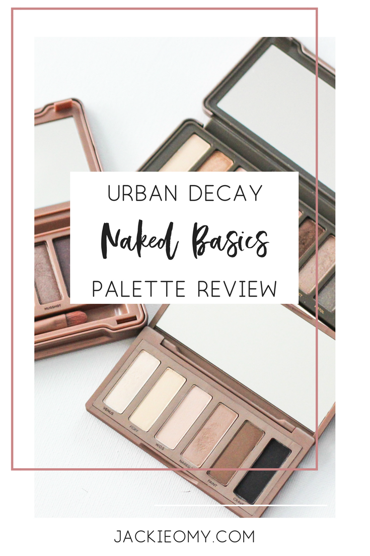 Review: The Urban Decay Naked Basics Palette