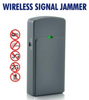 Stop Disturbance With Mobile Phone Signal Jammer ~ SPY SHOP