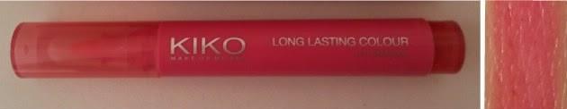 Crazy about lipstick tag Long lasting colour lip marker KIKO
