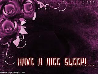 good nıght sweet dreams