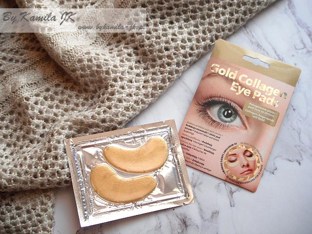 GlySkinCare Gold Collagen kolagenowe płatki pod oczy ze złotem