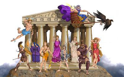Resultado de imagen de dioses del olimpo
