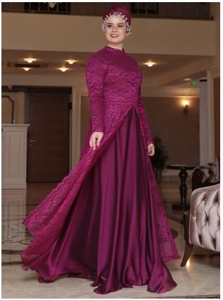 15 Model Baju Muslim Untuk Orang Gemuk 2018