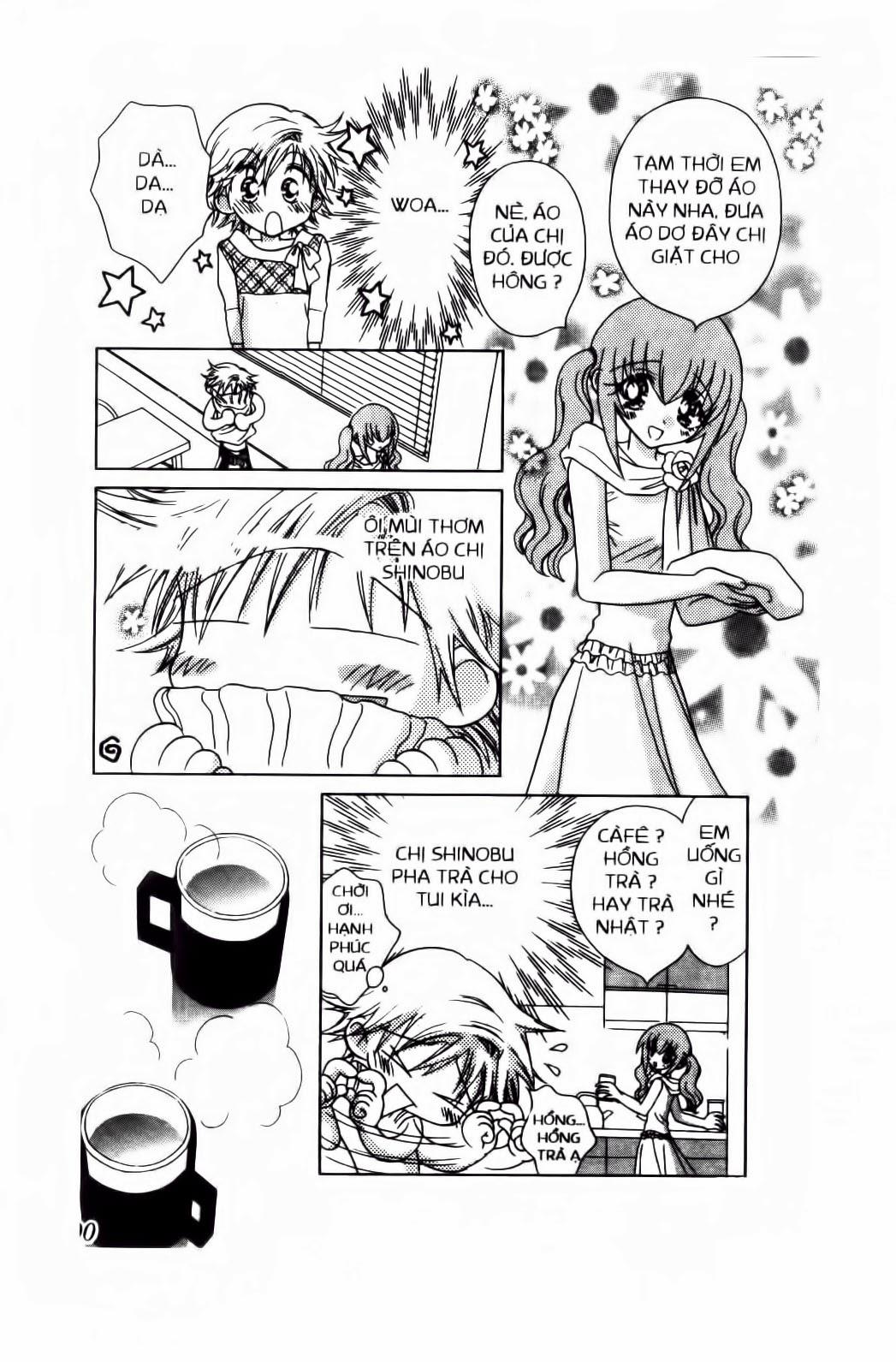 Chắp Cánh ước Mơ chap 56 - Trang 10
