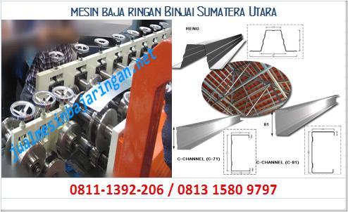 mesin baja ringan Binjai Sumatera Utara