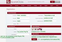 Rejestracja w programie Scarlet-Clicks