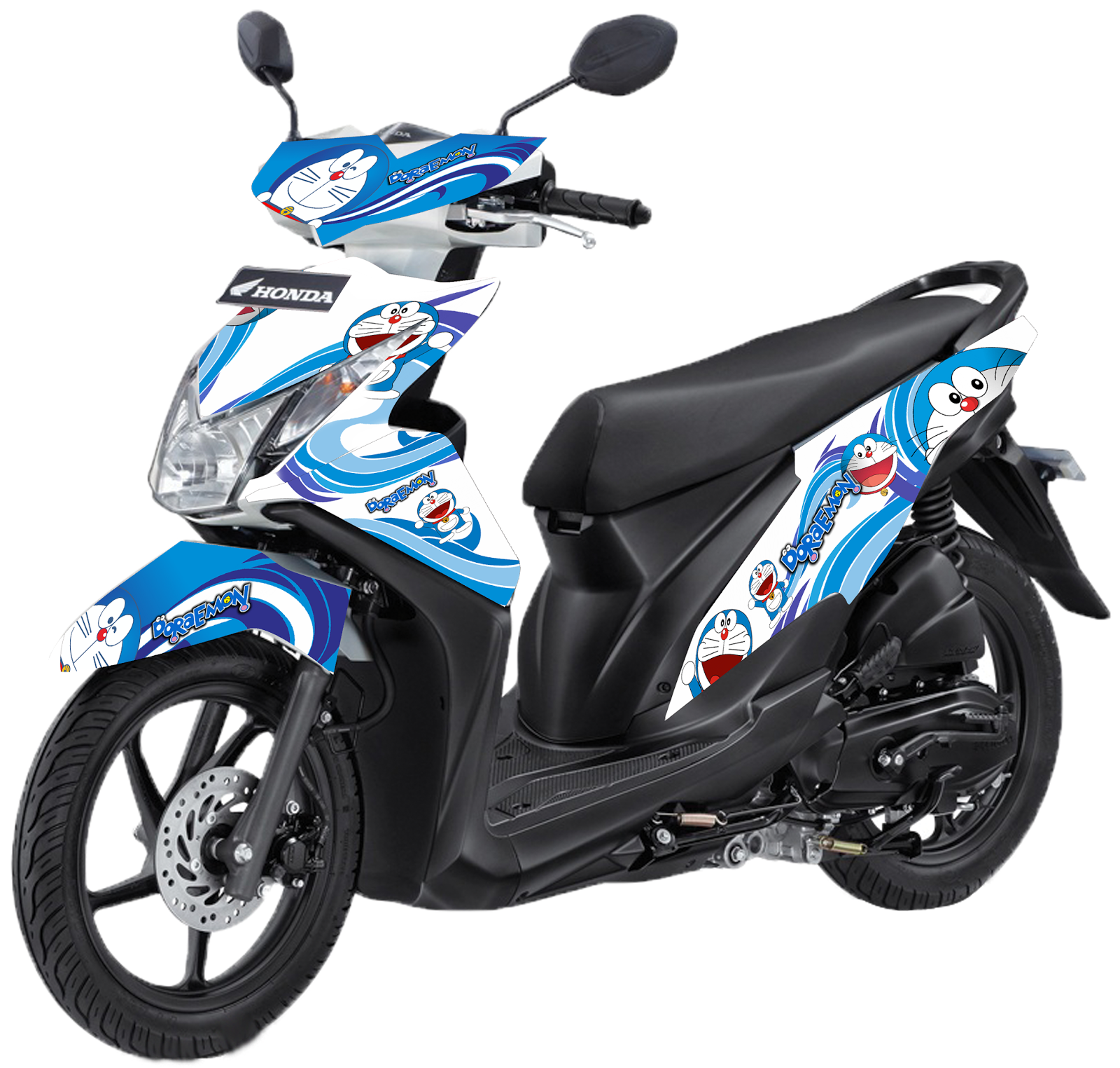 Gambar Cutting Sticker Honda Beat Esp 2018  Inomodifikasi