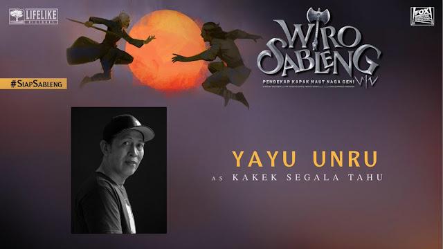 Yayu Unru sebagai Kakek Segala Tau/ Sumber foto @LifeLikePictrs
