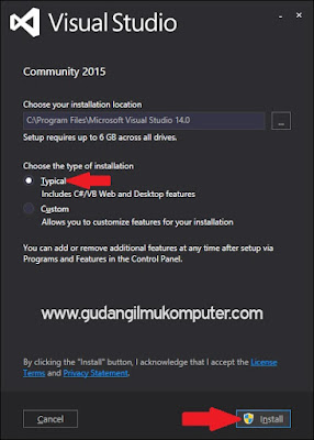 Cara Menginstal Microsoft Visual Studio 2015 Secara Online Di Windows 8