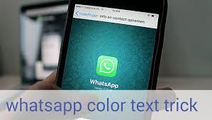 Cara menciptakan tulisan berwarna di whatsapp Ini Lho Cara Membuat Tulisan Berwarna di Whatsapp