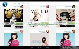 ứng dụng Shazam Encore