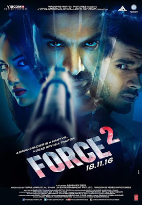 Force 2 2016 Hindi DVDRip 720p 600mb HEVC