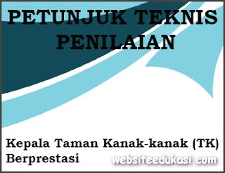 Juknis Penilaian Kepala TK Berprestasi 2019