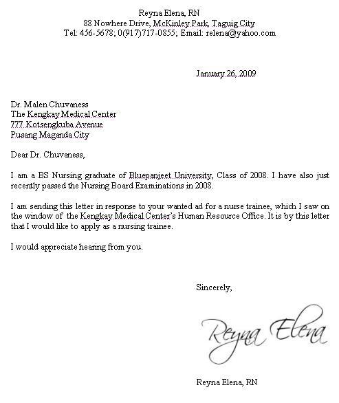 Business Letter Sample: October 2011