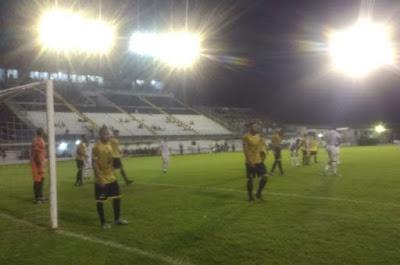 O Barretos Esporte Clube empatou com o União Agrícola Barbarense, em 0 a 0  (Roberto José www.barretosesporteclube.com.br)