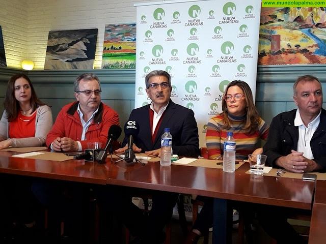 Nueva Canarias mejora en unos 6 millones los presupuestos para La Palma