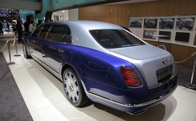 2016 Geneva Bentley Mulsanne Grand Limousine Carsfresh