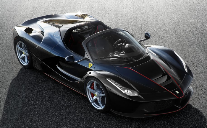 The Astonishing LaFerrari Aperta,  Sold at Auction for $7,000,000