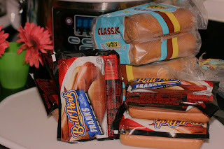 hot dog crock pot crowd ingredients