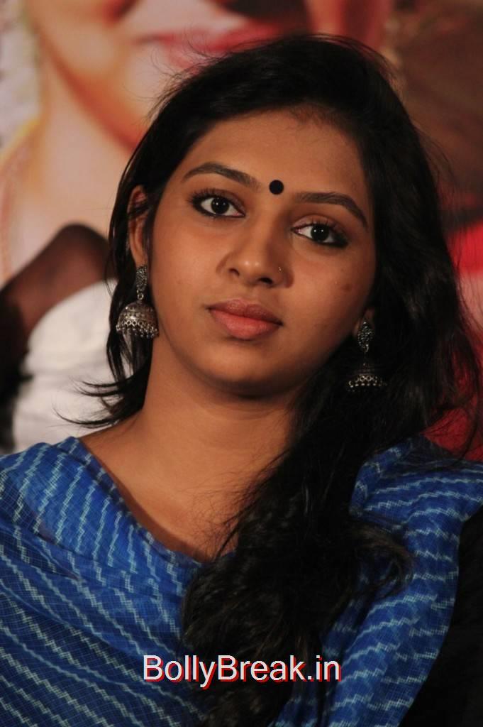 Lakshmi Menon Photo Gallery, Lakshmi Menon Hot HD Images from Komban Movie Sucess Meet