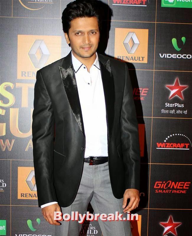 Ritesh Deshmukh, Star Guild Awards 2014 Pics
