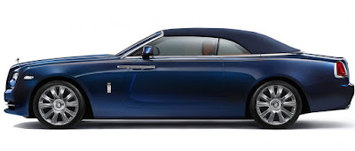 Rolls-Royce Dawn Fashion Inspired special edition side image