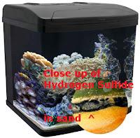 Hydrogen Sulfide in sand
