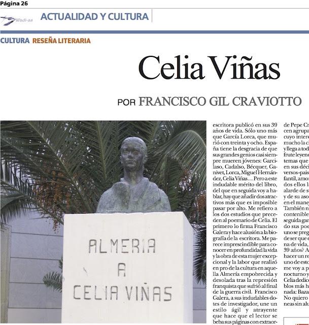 FRANCISCO GIL CRAVIOTTO: Celia Viñas
