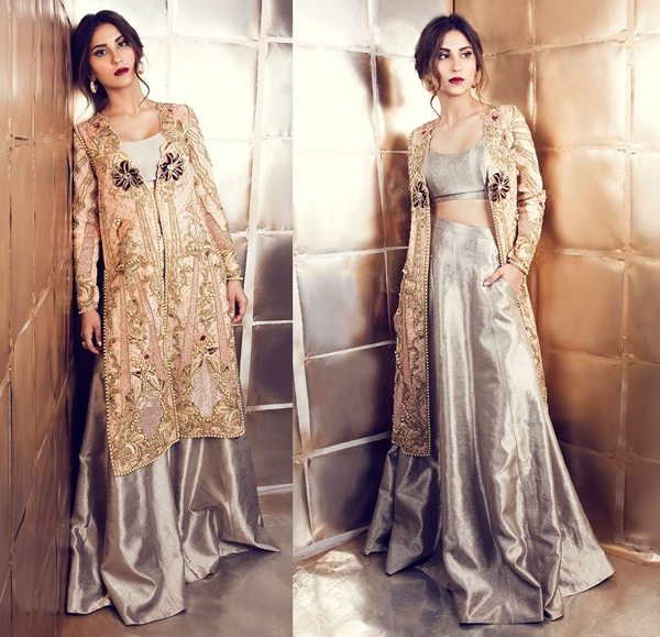 Wedding Lehenga Designs with Jacket and Blouse