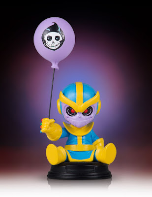 Animated Thanos Mini Marvel Statue by Skottie Young & Gentle Giant