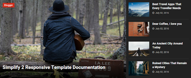 Download Template Blogger Simplify 3.2 Free Responsive