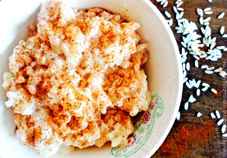 arroz con leche clasico