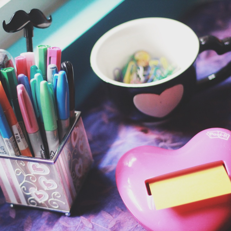 Creative Spaces: Hazel from Stay Bookish-Hearts