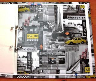 Blanko-Ringbuchalbum mit passenden Trennpappen